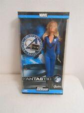 2003 Fantastic Four Invisible Woman Barbie Doll Marvel Comics Disney
