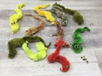 Vintage Squirmles Fuzzy Worms Magical Toy Nostalgia Lot of 200