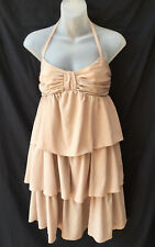 Wayne Cooper Size 12 Dress Halter Tiered Cocktail Party Evening Occasion Dinner