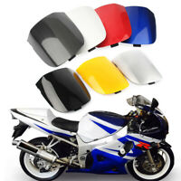 White Motorcycle Rear Seat Cover Cowl Fairing For Suzuki GSXR 600/750 2001-2003