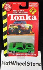Tonka/Maisto   Green  '71 Plymouth Hemi 'Cuda    Card #15
