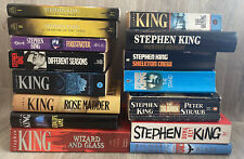 Stephen King Large Mixed Book Bundle - Horror Thriller