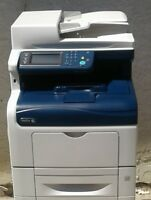 Xerox WorkCentre 6605DN Color Laser MFP Only 25K Prints/Copies Total