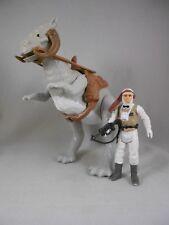 "Vintage Star Wars 1980 Tauntaun ""Closed Belly"" w/Saddle, Reins & Luke ""Hoth"""
