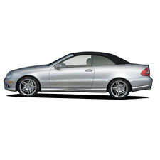 Mercedes CLK W209 2004-2009 Convertible Soft Top Replacement Black German A5