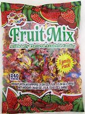 Alberts Fruit Mix Hard Candy Assorted Flavors 240 Ct Bag Bulk Candies Fruits