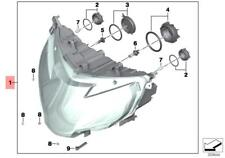Genuine BMW K52 Headlight OEM 63128541627