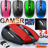 2.4GHz Wireless Mouse Optical Cordless Mice Scroll For PC Laptop Computer + USB