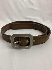 RRL Double RL Tooled Leather Western Belt Size 30