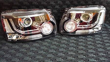 NEW Pair of Genuine Discovery 4 Xenon LED Headlights UK Spec  LR052377 LR052386