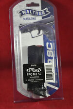 1 Pack Walther PPQ M2 Sub Compact SC 9MM Magazine with Finger Rest 10RD 2829711