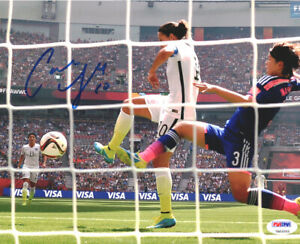 CARLI LLOYD AUTHENTIC AUTOGRAPHED SIGNED 8X10 PHOTO TEAM USA PSA/DNA ITP 93089