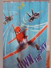 "Disney Planes Fabric Shower Curtain 70"" x 72"" NEW"