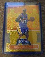 2014-15 Panini Excalibur Kobe Bryant die-cut prizm NBA basketball card 60/60 1/1