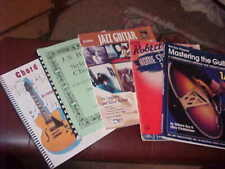 Lot of 5 Music books for Guitar good condition