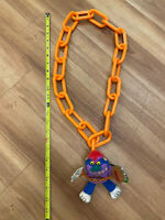 Giant My Pet Football Monster Chain, 2001 Necklace, RARE!