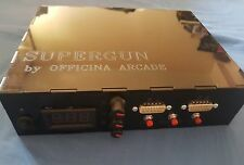 SUPERGUN OFFICINA ARCADE  KICK HARNESS CPS 2 READY JAMMA RGB SNK NEO GEO MVS -5V