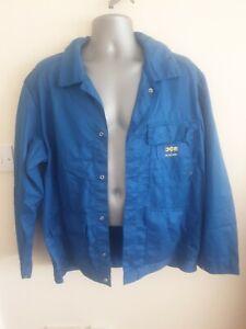 "Ex-rental Welding jacket + bib&braces FR size L 44"" chest, 39"" waist #1007"