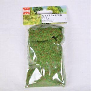 Grasfasern 2mm dunkelgrün  / Busch 7110 / 20g (Grundpreis 100g=10,95€)