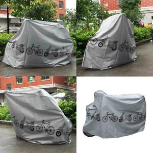 Mountain Bike Bicycle Rain Cover Waterproof Heavy Duty Storage Bag HOT Q1S8l9o