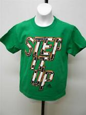 "NEW soccer ""STEP IT UP""  youth S SMALL SIZE 8 Adidas  T-Shirt  54BS"