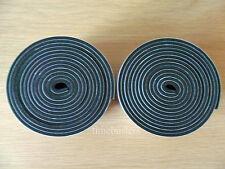 2 Rollos Negro De Doble Cara Cinta De Espuma De 10mm De Ancho X 4.5 mm de espesor 4m En Total