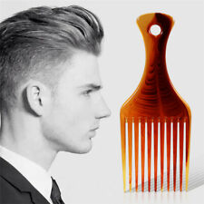Hair Pick Afro Styling Fork Comb Wide Tooth Hairdressing Salon Hairbrush Tool