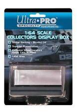 1/64 Scale Crystal Clear Acrylic Display Case w/Mirror Matchbox NASCAR HotWheels
