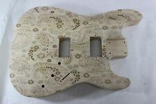Paisley HXH HH Hardtail guitar body - fits Fender Strat Stratocaster neck P640