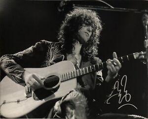 Jimmy Page - Led Zeppelin - Original Autograph - Hand Signed 8x10 w/ COA