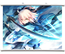 Fate Grand Order Sakura Saber Okita Souji Wall Scroll Poster free shipping