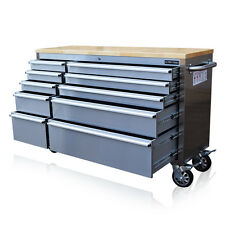 """301 US PRO TOOL CHEST BOX BENCH STAINLESS STEEL 55"""" ! FINANCE AVAILABLE !"""