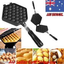 Nonstick DIY Egg Waffle Bubble Eggettes Iron Pan Baking Mold Plate Kitchen Tool