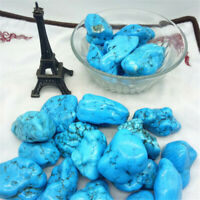 Turquoise Ore Crushed Gravel Stone Chunk Lots Degaussing Gemstone Accessories