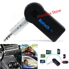 2xMini Wireless Bluetooth 3.5mm AUX Audio Stereo Music Home Car Receiver Adapter