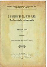 Studio Aneurisma Vero Arteria Splenica Elastoma della Tunica Media Siena Tarozzi