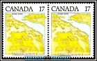 2x CANADA 1981 CANADIAN NIAGARA ON THE LAKE MINT FV FACE 34 CENT MNH STAMP LOT