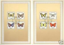 BRD 1991: Schmetterlinge! Jugend-Ersttagsblatt Nr. 1512-1519! Stempel Bonn! 1701