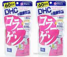 2 Packs of DHC Collagen Supplement 60days 360 tablets Unisex Anti-Aging Japan