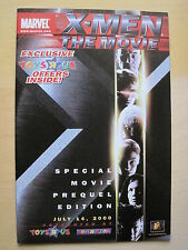 X-MEN THE MOVIE. TOYS R US SPECIAL PREQUEL EDITION OF THE MOVIE. MARVEL.2000
