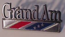 73-75 Pontiac Grand AM Fender emblem NEW AB015B