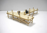 HO Scale **LASER CUT ** Custom ** Boat Dock Pier Kit