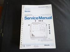 Original Service Manual Philips D 8080