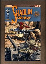 2007 Shaolin Cowboy 7 Variant Signed Burlyman Geoffrey Darrow Burlyman Geoff A1