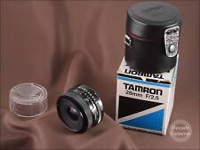 6077-Adaptall 2 Tamron BBAR MC 28 mm f2.5 lente gran angular de apertura rápida