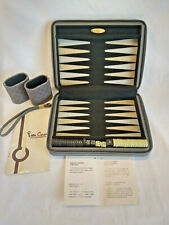 Vintage Backgammon Travel Set By Pierre Cardin