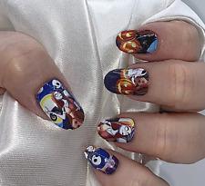 Nbc Sally color nail polish strips Zz107 street art wraps