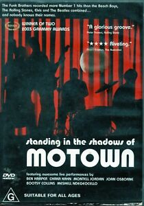 STANDING IN THE SHADOWS OF MOTOWN. R4 DVD