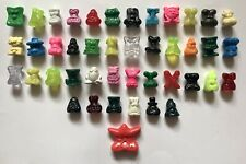 GOGOs Crazy Bones - Original Series 1996 (43 Pieces) Collectible, Vintage, Retro