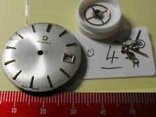 De COLECCIÓN OMEGA 601 17 Joya Reloj Movimiento buen equilibrio Repuestos O Reparación